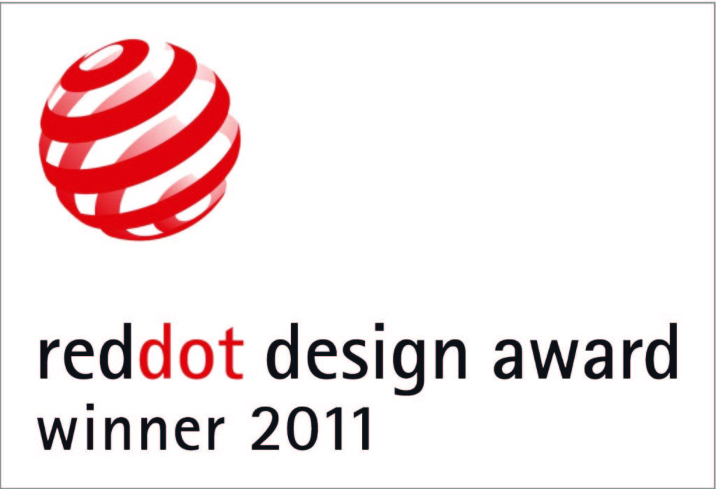 Received the Reddot 2011 Product Design Award for S20 in Essen, Germany
