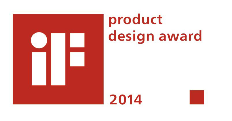 Received the iF product design award 2014 for S9 in Munich, Germany