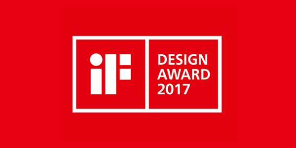 "Received ""iF Product Design Award 2017"" for X5"